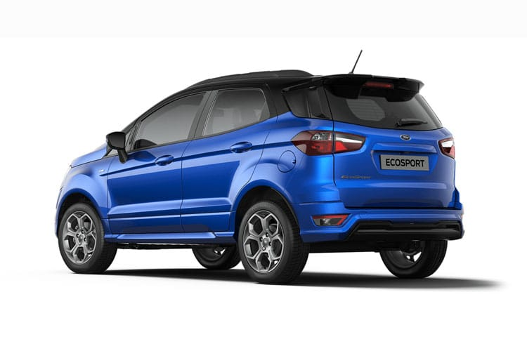 Ford EcoSport SUV 2WD 1.0 T EcoBoost 125PS Titanium 5Dr Manual [Start Stop] back view