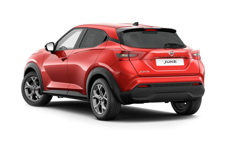 Nissan Juke SUV 1.0 DIG-T 114PS N-Connecta 5Dr DCT Auto [Start Stop] back view
