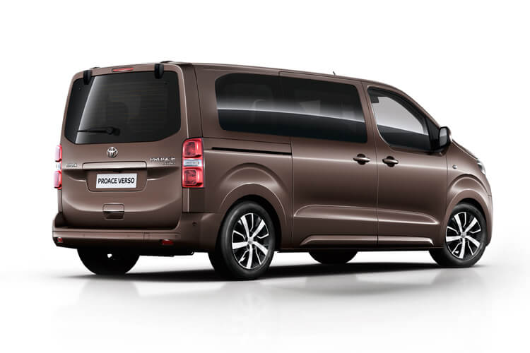 Toyota PROACE Verso Medium 1.5 D FWD 120PS Shuttle MPV Manual [Start Stop] [9Seat Navi] back view