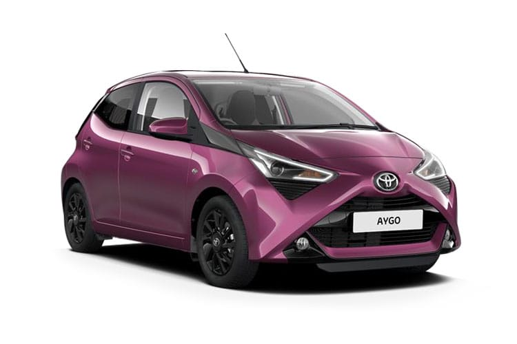 Toyota Aygo Hatch 5Dr 1.0 VVTi 71PS x-clusiv 5Dr x-shift front view