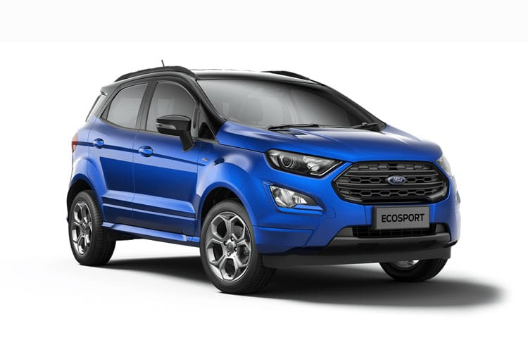 Ford EcoSport SUV 2WD 1.0 T EcoBoost 125PS Titanium 5Dr Manual [Start Stop] front view