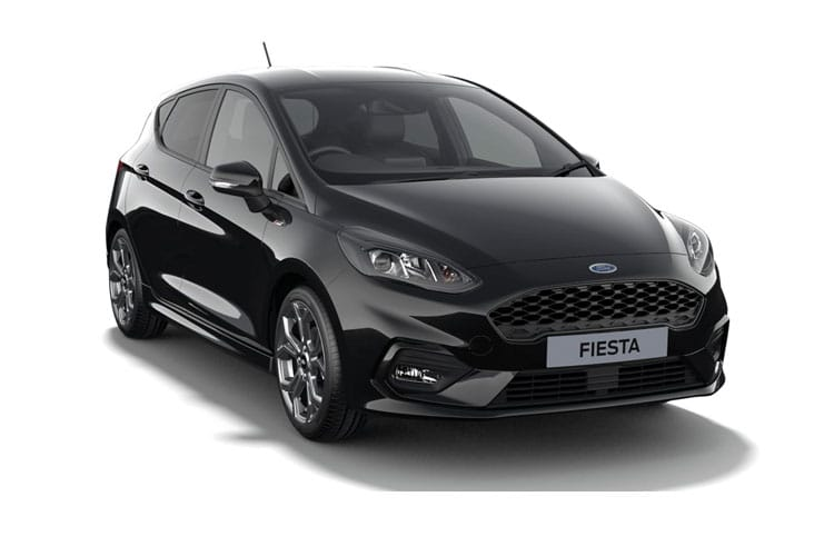 Ford Fiesta Hatch 5Dr 1.0 T EcoBoost MHEV 155PS Titanium X 5Dr Manual [Start Stop] front view