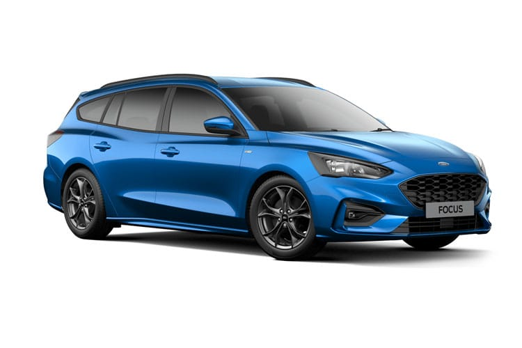 Ford Focus Estate 1.0 T EcoBoost 125PS Active Edition 5Dr Auto [Start Stop] front view
