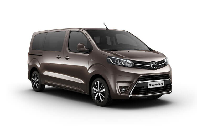 Toyota PROACE Verso Medium 1.5 D FWD 120PS Shuttle MPV Manual [Start Stop] [9Seat Navi] front view