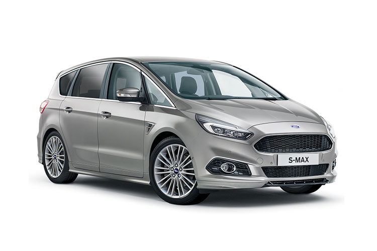 Ford S-MAX MPV 2.5 h Duratec 190PS Titanium 5Dr CVT [Start Stop] front view